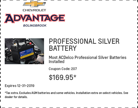 Professional Silver Battery