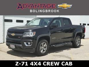 New 2019 Chevrolet Colorado Crew Cab Short Box 4-Wheel Drive Z71
