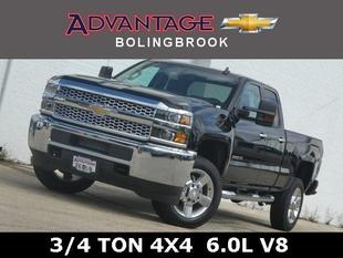 New 2019 Chevrolet Silverado 2500HD Double Cab Standard Box 4-Wheel Drive Work Truck
