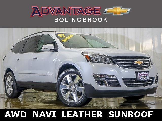 Pre-Owned 2017 Chevrolet Traverse AWD Premier