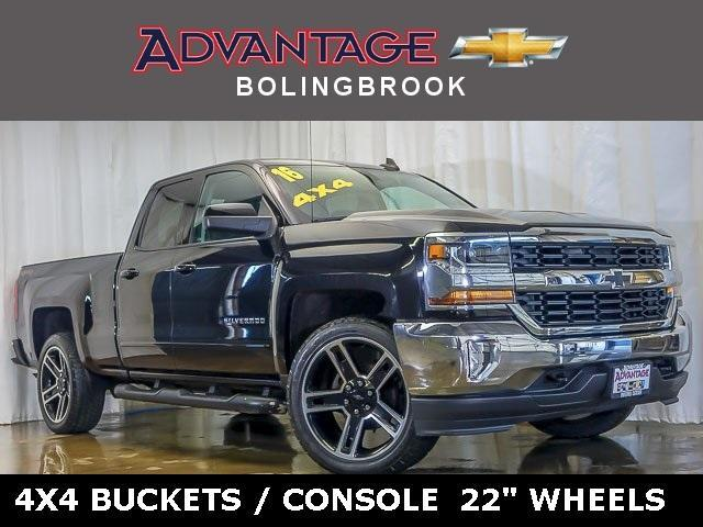 Certified Pre-Owned 2016 Chevrolet Silverado 1500 Double Cab Standard Box 4-Wheel Drive LT