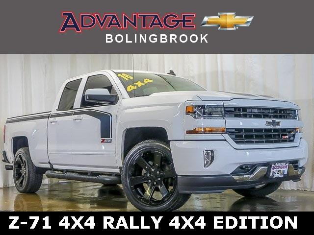 Certified Pre-Owned 2016 Chevrolet Silverado 1500 Double Cab Standard Box 4-Wheel Drive LT Z71 Rally 2 Edition