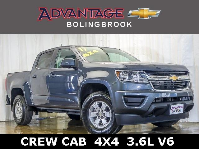 Certified Pre-Owned 2017 Chevrolet Colorado Crew Cab Short Box 4-Wheel Drive WT