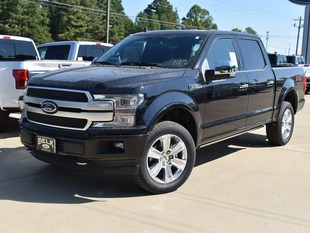 New 2019 Ford F-150 Platinum Truck For Sale Oxford, MS
