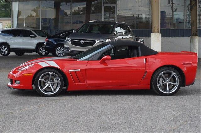 Pre-Owned 2011 Chevrolet Corvette Convertible Grand Sport 4LT