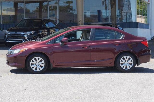 Pre-Owned 2012 Honda Civic Sedan LX Automatic