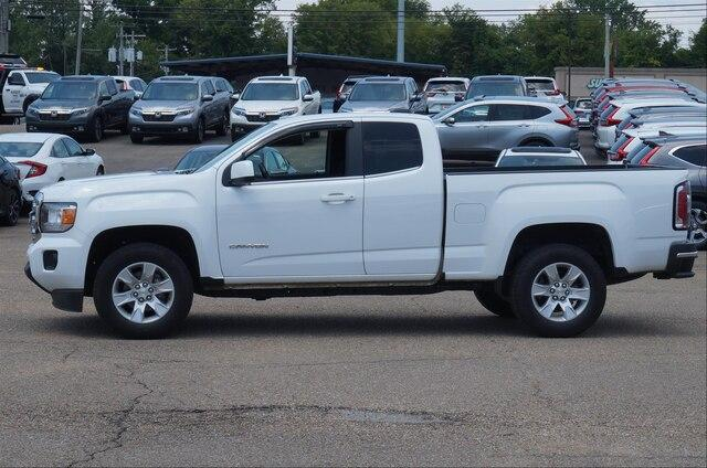 Pre-Owned 2018 GMC Canyon Extended Cab Long Box 2-Wheel Drive SLE