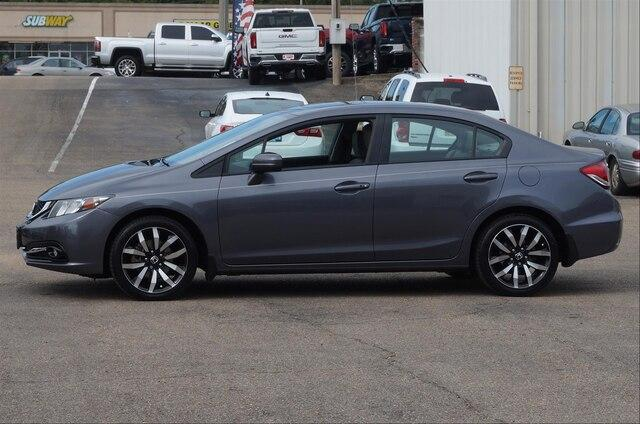 Pre-Owned 2015 Honda Civic Sedan EX-L CVT